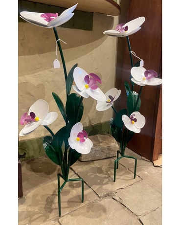 Metal Orchid Garden Stand Gifts