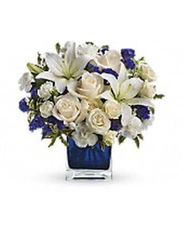 Teleflora's Sapphire Skies Bouquet Custom product