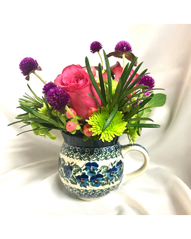 Beautiful Polish Mug Arrangement Gifts