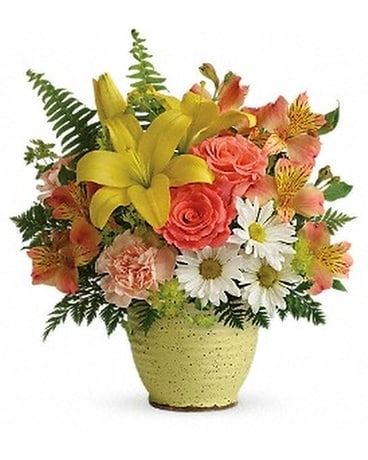 Teleflora's Clear Morning Bouquet Flower Arrangement