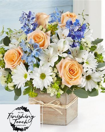 Coastal Breeze Flower Arrangement