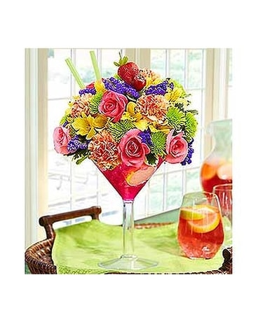 Sangria Bouquet Flower Arrangement