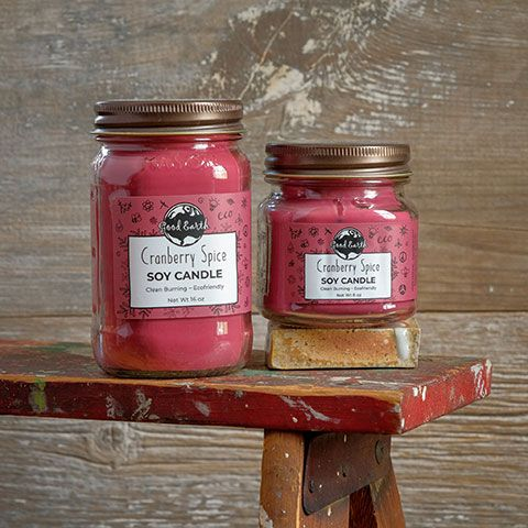 Good Earth Mason Jar Candle