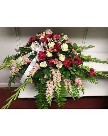 Graceful Casket Arrangement Flower Arrangement