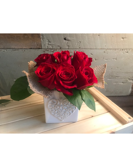 Love Letters Flower Arrangement
