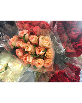 SUMMERTIME Roses! Curbside Pick-Up SPECIAL Flower Arrangement
