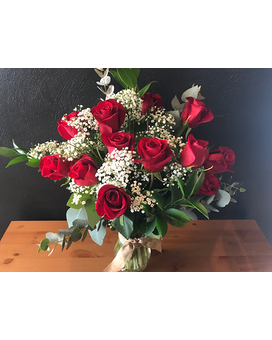 Radiant Roses Flower Arrangement