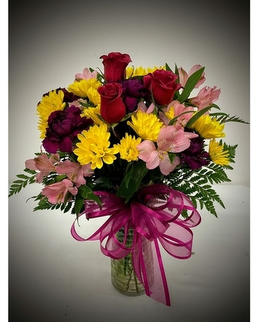 Shades of Purple Designer's Choice Flower Arrangement