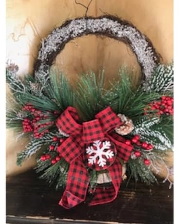 Simple Christmas Wreath Gifts