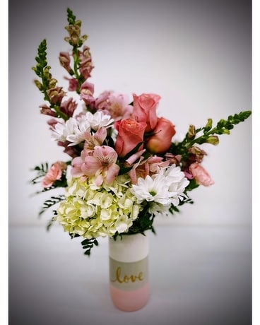 Jewel Tone Designer's Choice Flower Arrangement