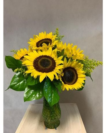 Country Sunshine Flower Arrangement