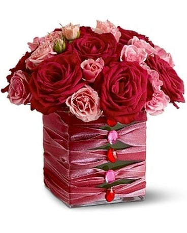 Teleflora's Birthday Couture Flower Arrangement