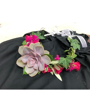 Flower crown Wedding Arrangement