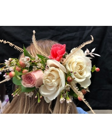 Hair Piece floral Custom product