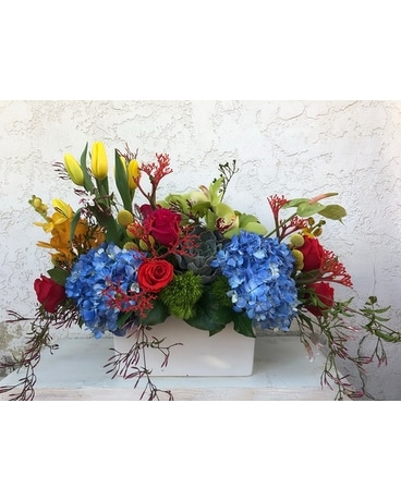 Vibrant Blooms Custom product