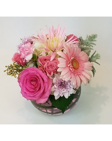 Pink with Pleasure Flower Arrangement
