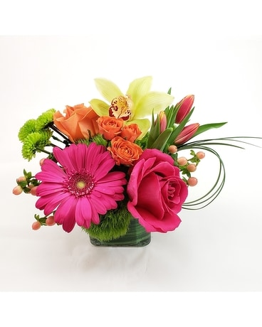 Haute Spring Flower Arrangement