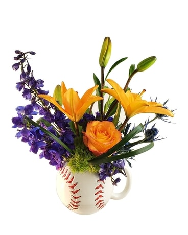 OPENING DAY, GO TIGERS! Flower Arrangement