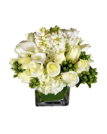 Pristine Flower Arrangement