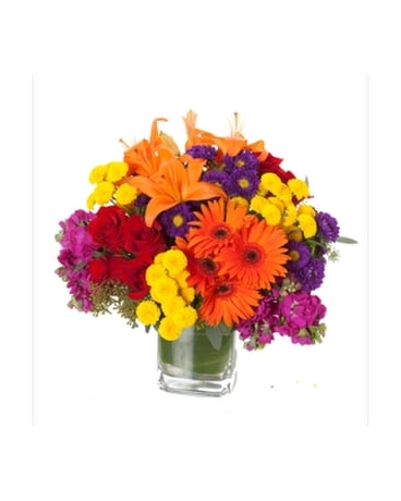 Bold-N- Beautiful Flower Arrangement