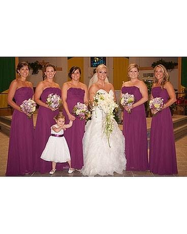 Wedding Party Flower Arrangement