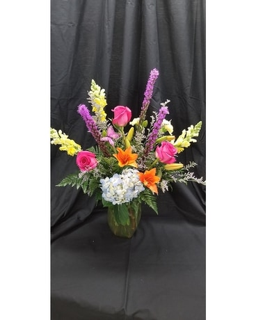 International Woman's Day Flower Arrangement