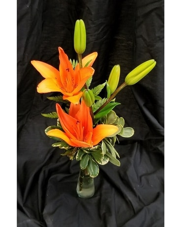 Schroeder's Featured Asiatic Lily Flower Arrangement