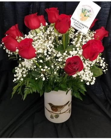 Schroeder's Hugs and Smiles Flower Arrangement