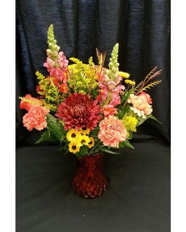 Schroeder's Own Fall Beginnings Flower Arrangement