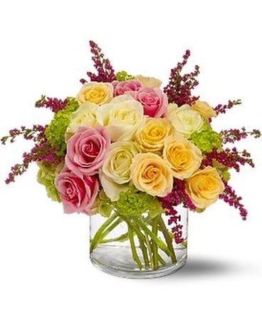 Enchanted Roses Flower Arrangement