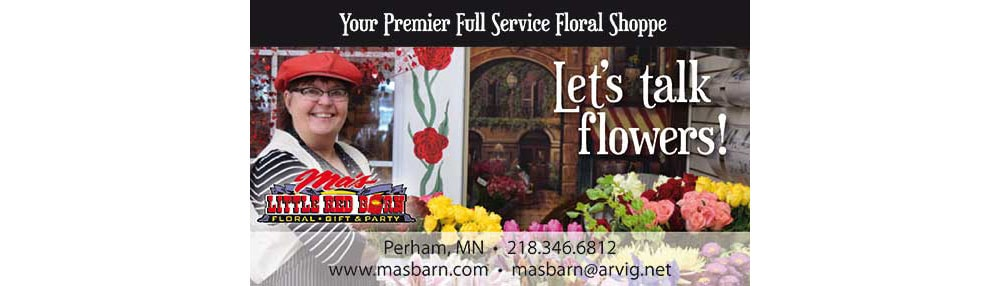 Flower Delivery to Perham by Ma's Little Red Barn