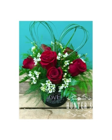 LOVE18 Flower Arrangement
