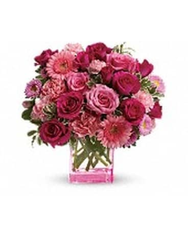 Mary Kay's Pink Dreams Bouquet Flower Arrangement