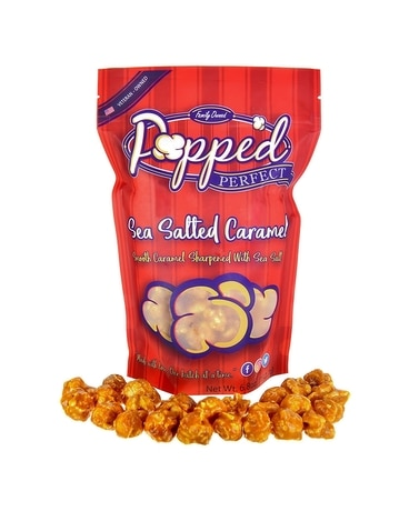 Popped Perfect Sea Salted Caramel Popcorn Gifts