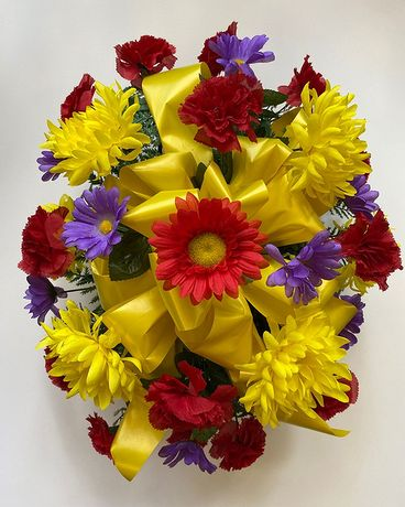 Yellow, Purple & Red Monument Topper Custom product