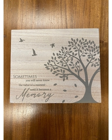 Wooden Memory Box Gifts