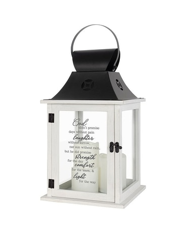 White 3 Candle Lantern Gifts