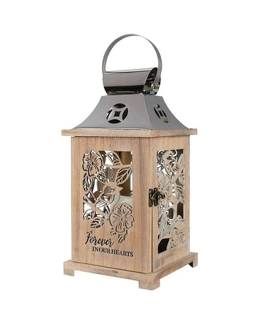 Forever in Our Hearts Wooden Lantern Gifts