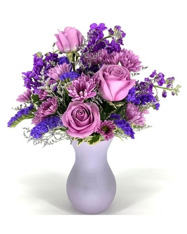 Lavender Moments Flower Arrangement