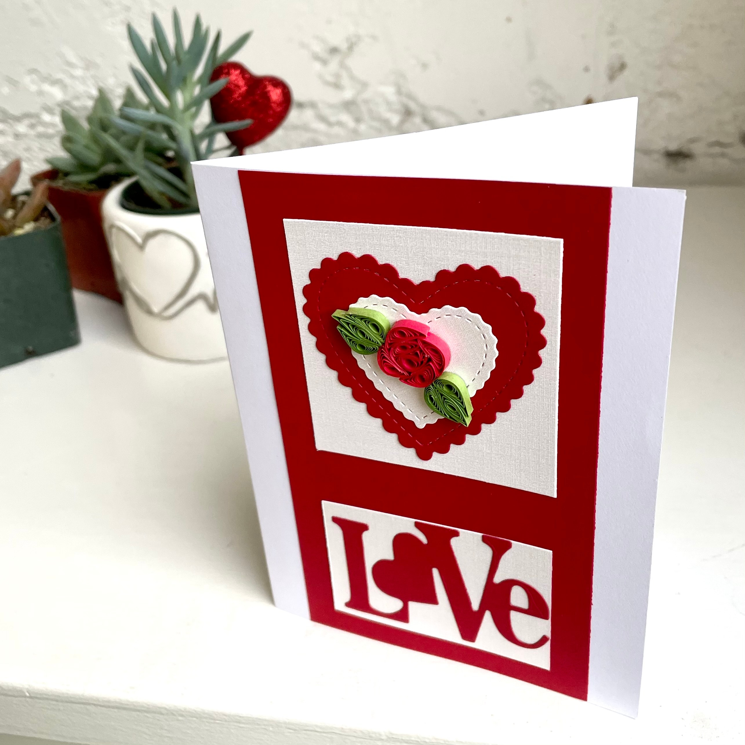 Handcrafted Card With Hand Written Message
