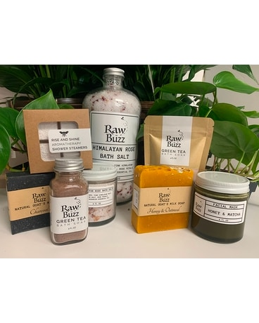 Raw Buzz Spa Set Gifts