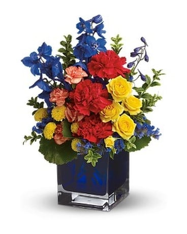 Teleflora's Color Collage Flower Arrangement