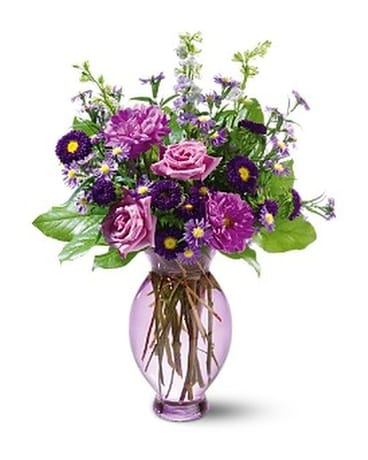 Teleflora's Lavender Inspiration Bouquet Flower Arrangement