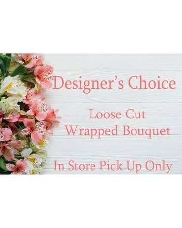 Loose Cut Wrapped Bouquet Custom product