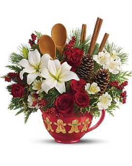 telefloras mixing bowl bouquet