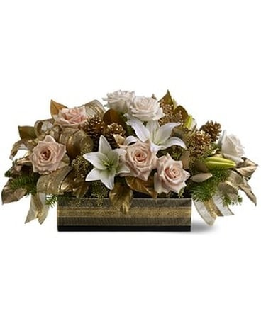 Christmas Elegance Flower Arrangement