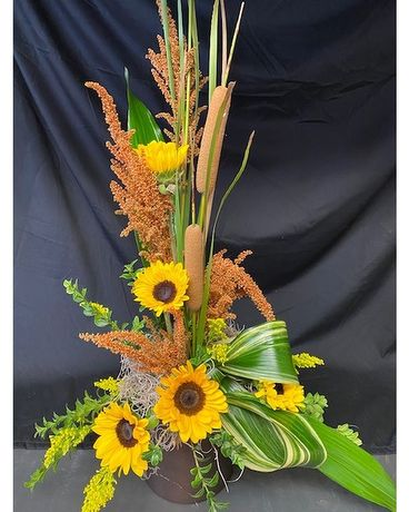 Sunny Days in Fall Flower Arrangement