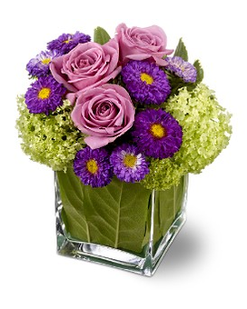 Teleflora's Simply Charming Flower Arrangement