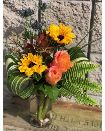 Sunflower Sunset Flower Arrangement