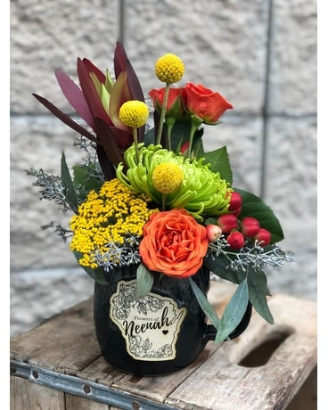 Autumn in Neenah Flower Arrangement
